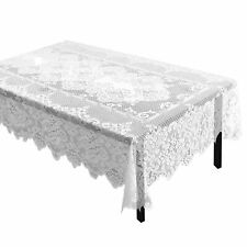 Juvale Lace Rectangular Tablecloth With Elegant Floral Patterns for Parties 60