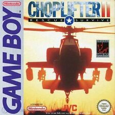 CHOPLIFTER II 2 per NINTENDO GAME BOY, con scatola e manuale!