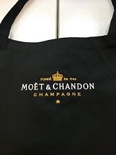 MOET & CHANDON CHAMPAGNE FULL LENGTH APRON WITH GOLD MOET LOGO