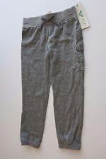 NWT Roxy Little Girl's -5- Gray Heather Logo Sweatpants Pants Bottoms