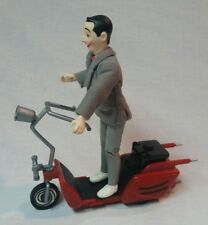 1988 Pee- Wee Herman Poseable Figure With Scooter- Matchbox