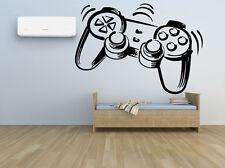 Nursery Wall Decal Video Gaming Room Vinyl Sticker Gamepad Art Decor Mural F2393