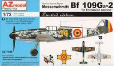 AZ Model 1/72 Messerschmitt Bf 109G-2 Romanian Service, LE # 74088