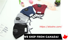 Reusable Fabric Face Mask Unisex SHIP FROM CANADA