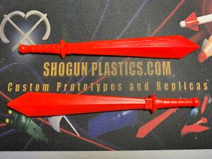 Mazinger RED  Sword Pair - Shogun Warrior Jumbo Machinder