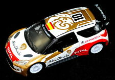 Citroen DS3 Abu Dhabi WRC Model Car Car New + Genuine AMC19159 Spain Flag Ed