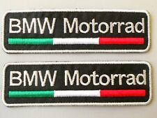 PATCH BMW MOTORRAD TRICOLORE  N.2 RICAMATA TERMOADESIVA CM.10X3-COD.303