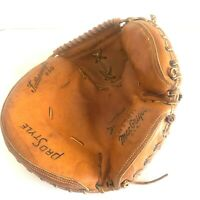 Catchers Baseball Glove Pro Style Featherweight G130H MacGregor Grip Control