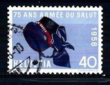 SWITZERLAND - SVIZZERA - 1958 - Serie di propaganda. 40 C. 75° Esercito Salvezza
