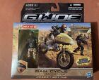 G.I. Joe Rise of Cobra Desert Ram Cycle w Sandstorm NM Target Exclusive