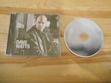 CD Jazz Dave Watts - Will It Rain? (7 Song) EFFENDI REC / CDN