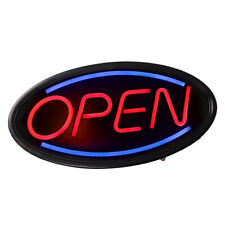 Animated Motion Ultra Bright OPEN Business Sign Store LED Neon Light with ON/OFF