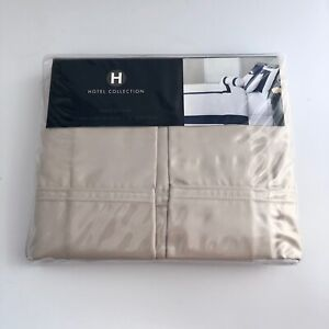 "New Hotel Collection QUEEN Bedskirt 16"" Drop Beige - Double Cording Charter Club"