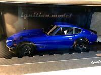 Ignition Model IG0649 1/18 Nissan Fairlady Z (S30) Blue