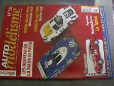 $$n Revue Auto modélisme N°56 Matra M670B LM73  Porsche 906 LM66  Tecnomodel