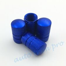 Universal Car Accessories Air Wheel Rim Tyre Tire Valve Stem Dust Cap Cover Blue