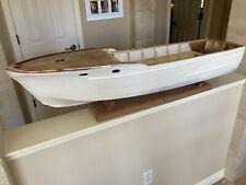 Chris Craft 42� Flying Bridge Cruiser Model Corvette Launch