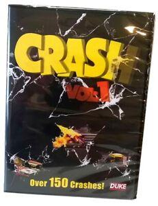 CRASH VOL 1 DVD - by Duke - Rally Cars Motorbikes Quads Racing Trucks - New