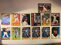 Bo Jackson 13 card Lot 1987 Topps 1991 Upper Deck - Donruss - Score Rifleman Bo