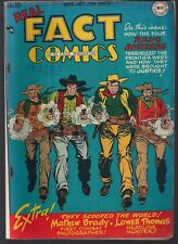 REAL FACT COMICS #16 DC 10/48 TOMMY TOMORROW 1ST(?) PLANETEERS RENO BROTHERS VF-