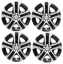 """NEW 2013-2017 Toyota RAV 4 RAV4  17"""" Silver Black Hubcap Wheelcover"""