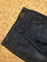 Calvin Klein Men's Blue Jeans Size W34 L30 Straight Leg 34X30 Denim Pants