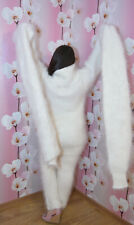 Sweater Fuzzy super long sleeve and neck 100% Goat Down Mohair FETISH