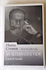 Hume Cronyn An Alternative View RARE HC 1st PRINT 2009 Shrink Wrap