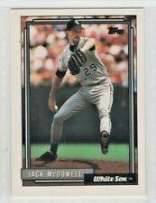 1992 Topps Baseball Card #11 Jack McDowell- Chicago White Sox