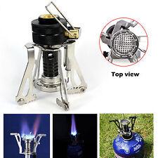 Neuf Mini portable Réchaud de camping Hiking gaz extérieur Barbecue stove poêle
