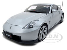 NISSAN FAIRLADY Z NISMO SILVER 2007 380RS 1/18 DIECAST MODEL CAR  AUTOART 77401