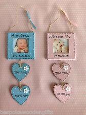 Personalizado Recién Nacido Boy/girl Portaretrato Baby Shower Recuerdo Regalo Regalo