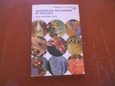 AUSTRALIAN DICTIONARY OF BIOLOGY john & peter child ;periwinkle colour guides