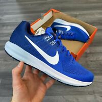 NIKE AIR ZOOM STRUCTURE 21 BLUE RUNNING SHOE TRAINERS SIZE UK10 US11 EUR45