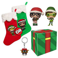 Overwatch Christmas Funko Collector Box 2 Pop Vinyls New in Box