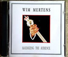 Wim Mertens – Maximizing The Audience - -CD  Label: Materiali Sonori 