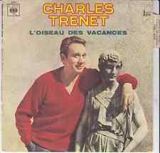 45 T  SP CHARLES TRENET *L'OISEAU DES VACANCES*