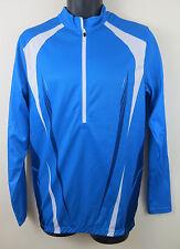 Cycling Long sleeve Jersey Blue Top Shirt Crivit Bike Racing Trikot 38/40 Medium