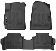 Husky Liners WeatherBeater Floor Mats-3pc- 98871-For Hyundai Elantra 17-18-Black