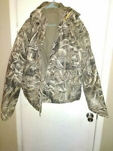 Cabelas Dri Fowl Parka Max 5 Jacket Hood with liner New never worn
