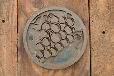 GRAPES, Cellar Door Sign, Bronze Resin winery, fridge, bar, wine plaque. NEW