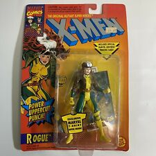 New ToyBiz 1994 X-Men ROGUE Power Uppercut Punch Trading Card Vintage Marvel