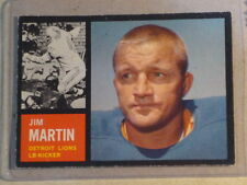 1962 Topps Jim Martin #55 Lions EX++ (Inv#816cb)