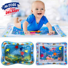Baby Tummy Sea World Fun Inflatable For UE Time Toddlers Infants Water Play Mat