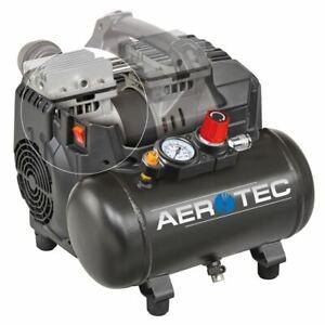 Aerotec Druckluft Mobil 6 L Kompressor SUPERSIL 6 Ölfrei | 8 bar