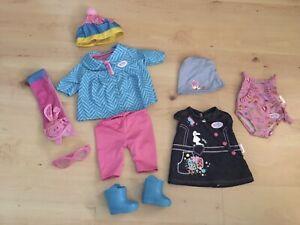 Baby Born Girl Doll Clothes
