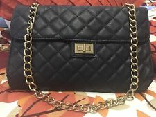 Pre Owned Forever21 Quilted Chain Bag Women's Handbag Quilt Bag