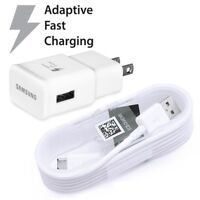 Original Adaptive Fast Wall Charger USB Cable For Samsung galaxy S7 S6 Note 5/4