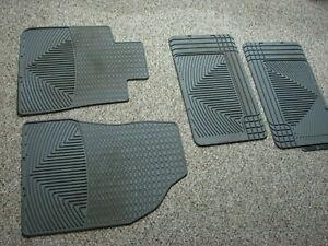 WeatherTech W68W25 Floor - Floor Mat.  Acadia / Traverse / Enclave 1st 2nd Gray