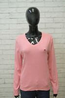 Maglia Donna TOMMY HILFIGER Taglia XL Maglietta Polo Shirt Woman Cotone Woman
